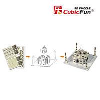 Тривимірна головоломка-конструктор серія міні cubicfun тадж махал (S3009h), фото 3