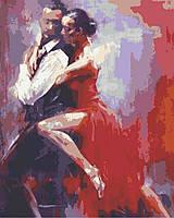 """Картина за номерами """"Танго"""" 40х50 1 шт., фото 1"""