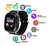 Детские Умные часы с GPS Smart baby watch Q90 черные - Детские смарт часы-телефон с трекером и кнопкой SOS, фото 5