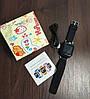 Детские Умные часы с GPS Smart baby watch Q90 черные - Детские смарт часы-телефон с трекером и кнопкой SOS, фото 6
