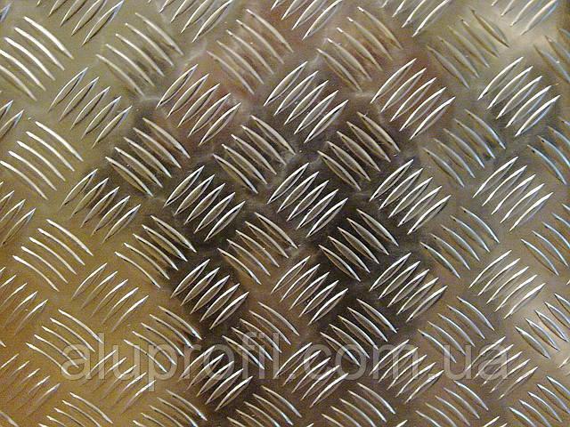 Алюминиевый профиль — лист алюминиевый «Квинтет» 1000х2000х1