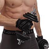 Перчатки спортивные многоцелевые BC-169 (кожа), фото 2