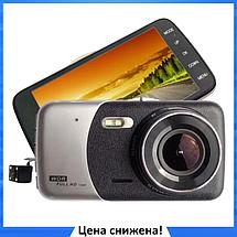 """Автомобильный Видеорегистратор DVR CT 503 (z14a) 3.5"""" Full HD 1080p - видеорегистратор с камерой заднего вида, фото 2"""