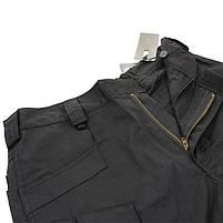 Тактические мужские шорты Lesko IX-7 Black размер M армейские форменные, фото 4