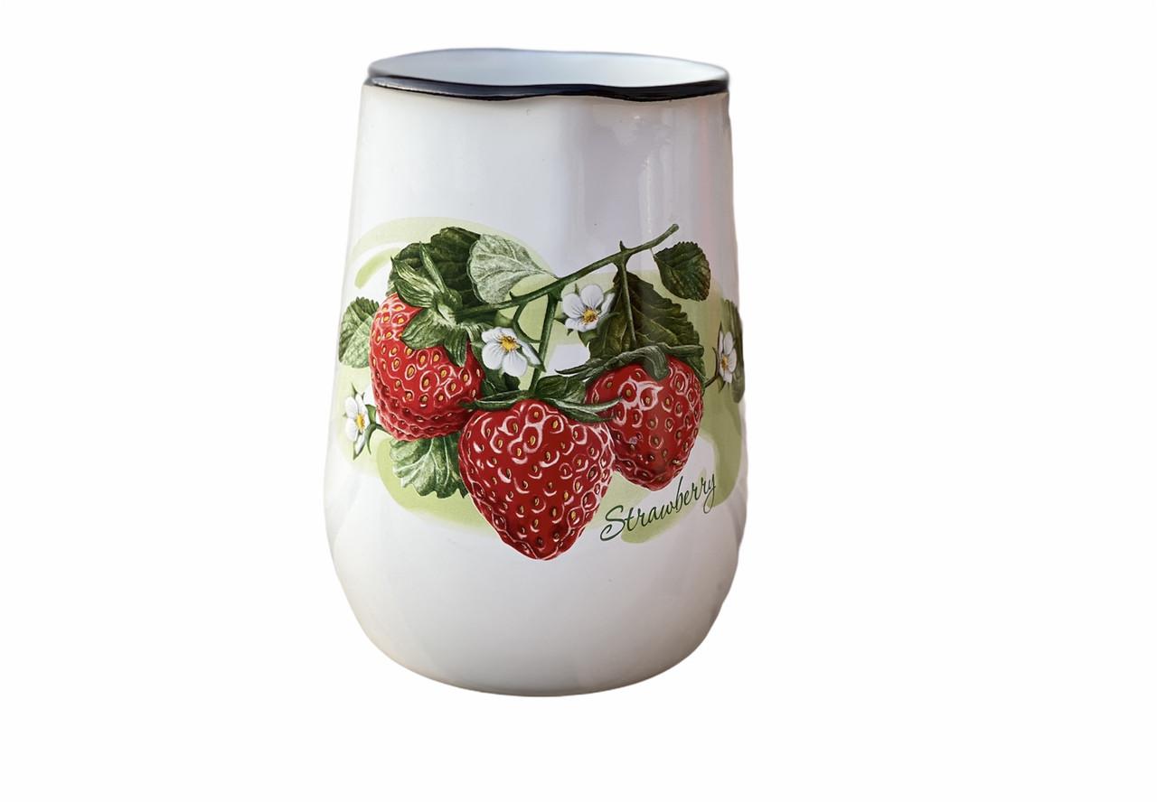 Кувшин эмалированный 2,5л 2311/2 Лесная ягода Idilia