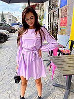 Женское базовое свободное платье