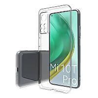 Ультратонкий чехол прозрачный на Xiaomi Mi 10T / Xiaomi Mi 10T Pro