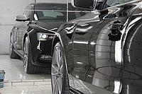 Обработка лакокрасочного покрытия автомобиля защитными, восстановительными составами на кварцевой основе