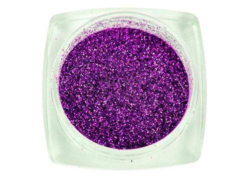 Komilfo блесточки № 009 размер 0,1 мм, фиолетовые голограмма 2,5, фото 2
