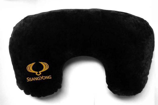 """Подушка рогалик """"Ssang Yong"""""""