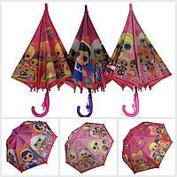 """Детский зонт-трость, полуавтомат """"LOL / ЛОЛ"""" от Paolo Rosi, 077, фото 1"""