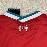 Футбольная форма Ливерпуль/ Liverpool  football uniform 2020-2021 с длинным рукавом, фото 2