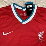 Футбольная форма Ливерпуль/ Liverpool  football uniform 2020-2021 с длинным рукавом, фото 4