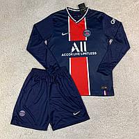 Футбольная форма ПСЖ/ PSG football uniform 2020-2021 с длинным рукавом