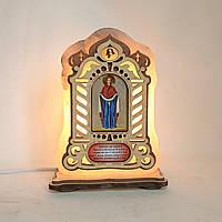 Соляной светильник Икона большая Покрова