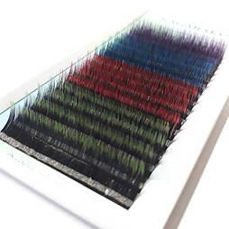 Ресницы Nagaraku (Нагараку) 0.07C длина 12мм 4цвета