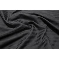 Постельное белье Lotus Отель - Сатин Страйп черный 1*1 евро (Турция)