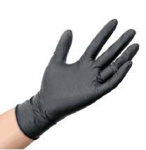 Перчатки медицинские Medicom Safe Touch нитриловые размер S черные 100 шт, фото 3
