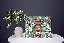 Різдвяний дерев'яний календар Санта Клауса з завданнями