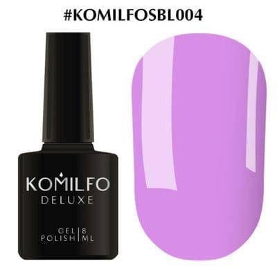 Гель-лак Komilfo Deluxe Series №SBL004 светло-сиреневый эмаль 8 мл, фото 2