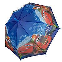"""Детский зонтик-трость """"Тачки"""" для мальчика от Paolo Rossi, разноцветный, 008-1, фото 1"""