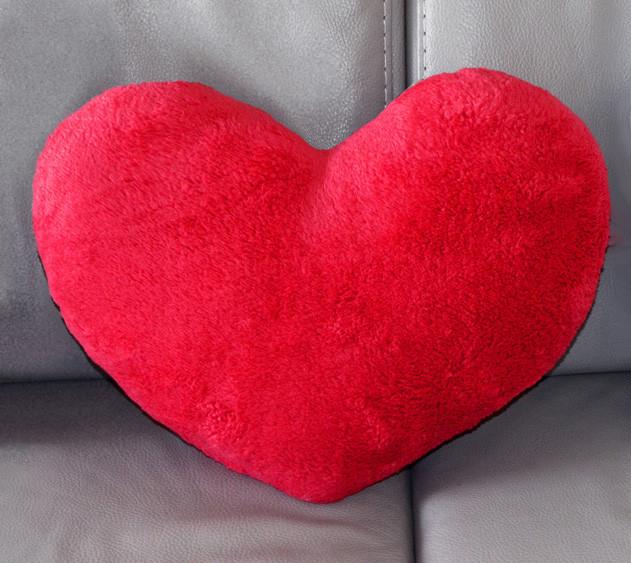 "Подушка ""Сердце"" красное"