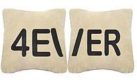 """Набор из двух подушек """"4ever"""""""