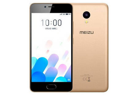 Смартфон Meizu M5C 16 Gb Gold Stock B-, фото 2