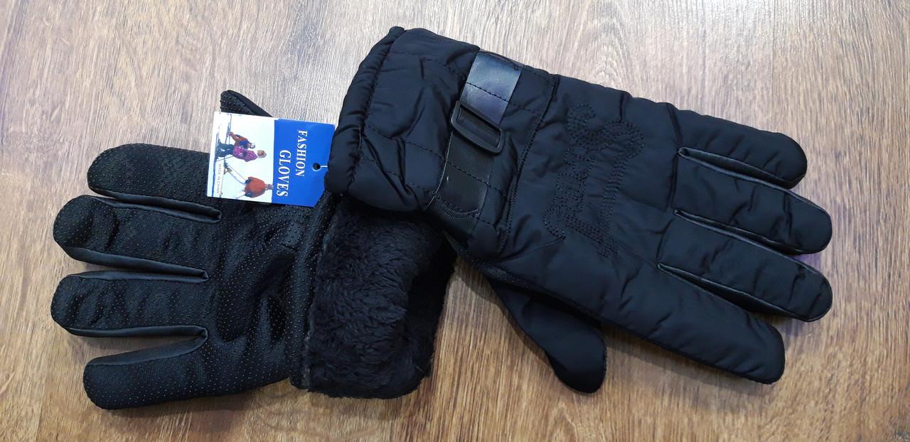 """Чоловічі перчатки-дутики з хутром всередені""""FESHIOH GLOVES"""""""