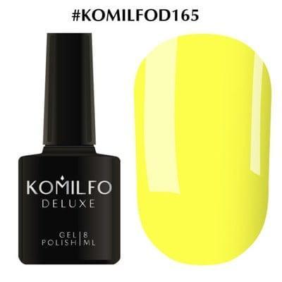 Гель-лак Komilfo Deluxe Series №D165 желтый эмаль 8 мл