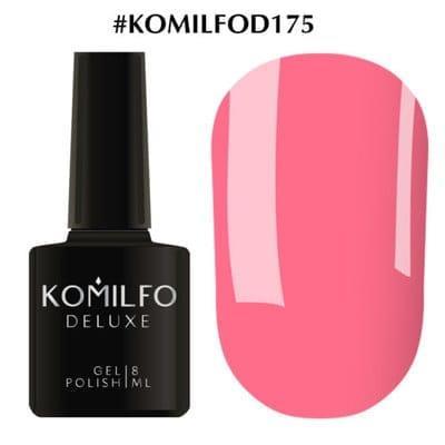 Гель-лак Komilfo Deluxe Series №D175 нежный насыщенный розовый эмаль 8 мл