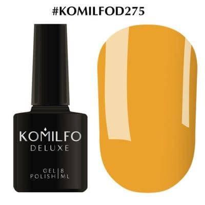 Гель-лак Komilfo Deluxe Series №D275 охра эмаль 8 мл, фото 2
