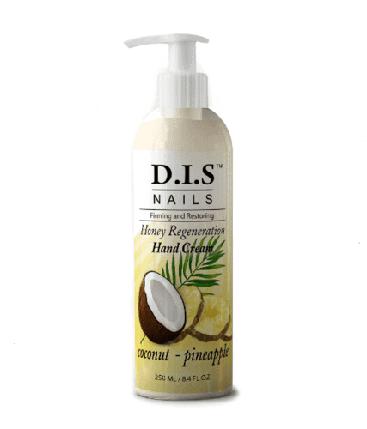 Крем для рук DIS Honey Regeneration coconut pineaplle 250 мл, фото 2