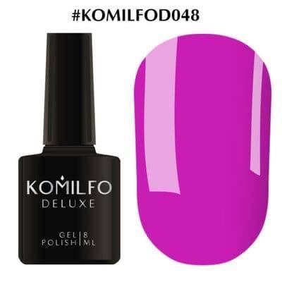 Гель-лак Komilfo Deluxe Series №D048 фуксия эмаль 8 мл, фото 2