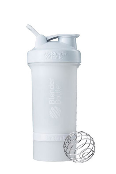 Шейкер спортивный BlenderBottle ProStak 650ml с 2-мя контейнерами White (ORIGINAL)