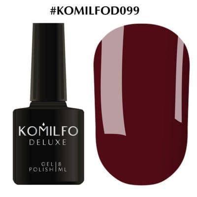 Гель-лак Komilfo Deluxe Series №D099 винный эмаль 8 мл, фото 2
