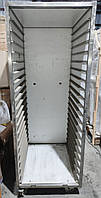 Б/У Тележка шпилька для противней из нержавеющей стали 1800х675х830 мм на 20 противней. Стеллаж шпилька