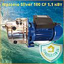 Бытовой наружный водяной насос для насосной станции водоснабжения частного дома Watomo Silver 100 CF 1.1 кВт, фото 2