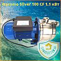 Бытовой наружный водяной насос для насосной станции водоснабжения частного дома Watomo Silver 100 CF 1.1 кВт, фото 3