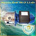 Бытовой наружный водяной насос для насосной станции водоснабжения частного дома Watomo Silver 100 CF 1.1 кВт, фото 4