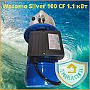 Бытовой наружный водяной насос для насосной станции водоснабжения частного дома Watomo Silver 100 CF 1.1 кВт, фото 5