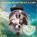 Бытовой наружный водяной насос для насосной станции водоснабжения частного дома Watomo Silver 100 CF 1.1 кВт, фото 6