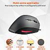 Мышь вертикальна компьютерная MEETION Vertical Mouse MT-M38 USB проводная для компьютера, фото 3