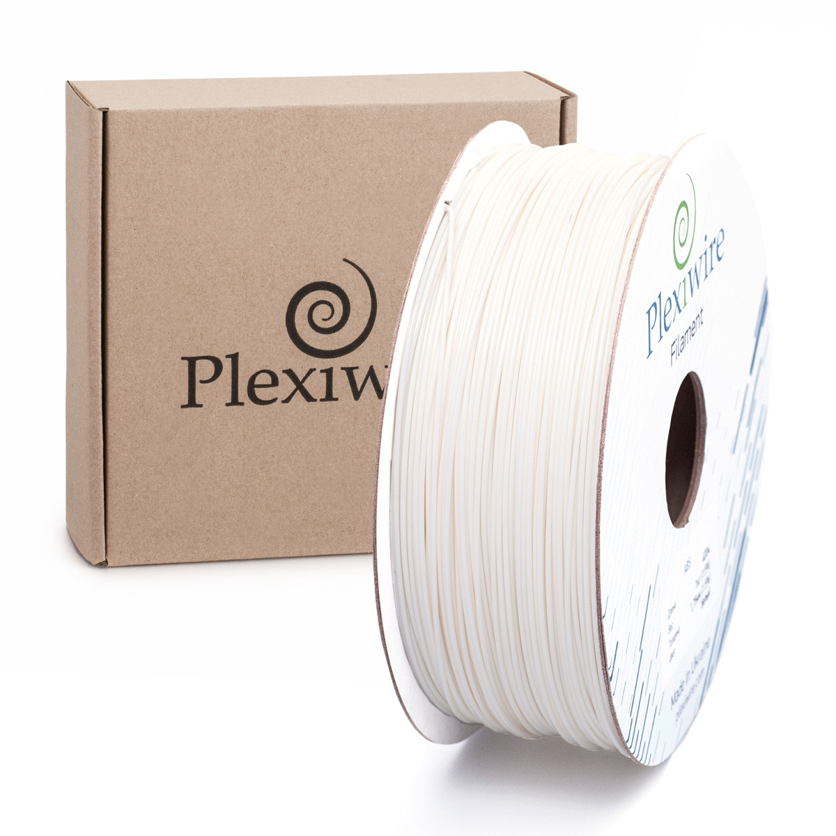 ABS пластик для 3D принтера 1.75 мм білий (400 м / 1 кг)