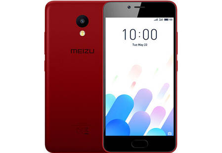 Смартфон Meizu M5C 16 Gb Red Stock B-, фото 2