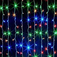 Гірлянда штора 120 LED Мультик 1.5 m прозорий провід