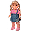 Кукла интерактивная Даринка 41 см украиноязычная, 10 фраз, песни, загадки, умеет ходить 5446 UA, фото 2