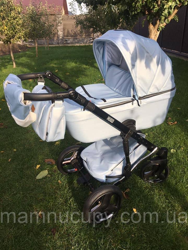 Детская универсальная коляска 2 в 1 Mikrus Hugo Silver 42