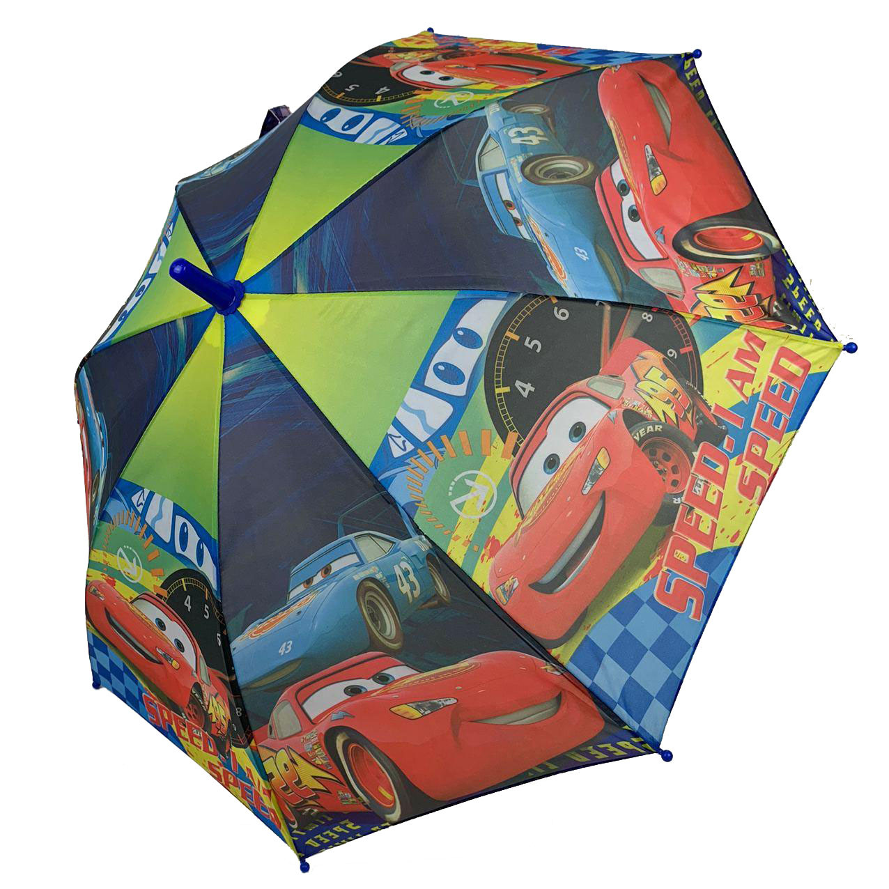 """Детский зонтик-трость """"Тачки"""" для мальчика от Paolo Rossi, разноцветный, 008-2"""
