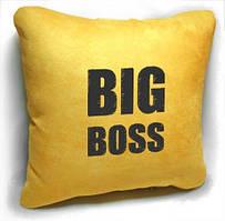 """Сувенірна подушка """"BIG boss"""" №165"""